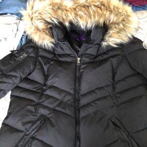 Madden Girl Black Puffer Coat
